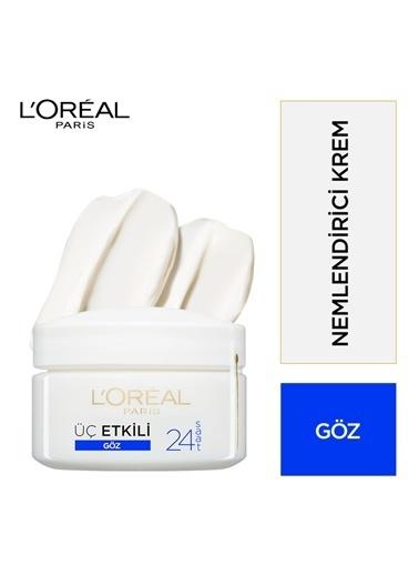 L'Oréal Paris 3 Etkili Göz Bakım Kremi 15Ml Renkli